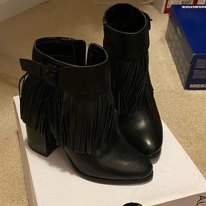 Aldo - Black Ankle Booties